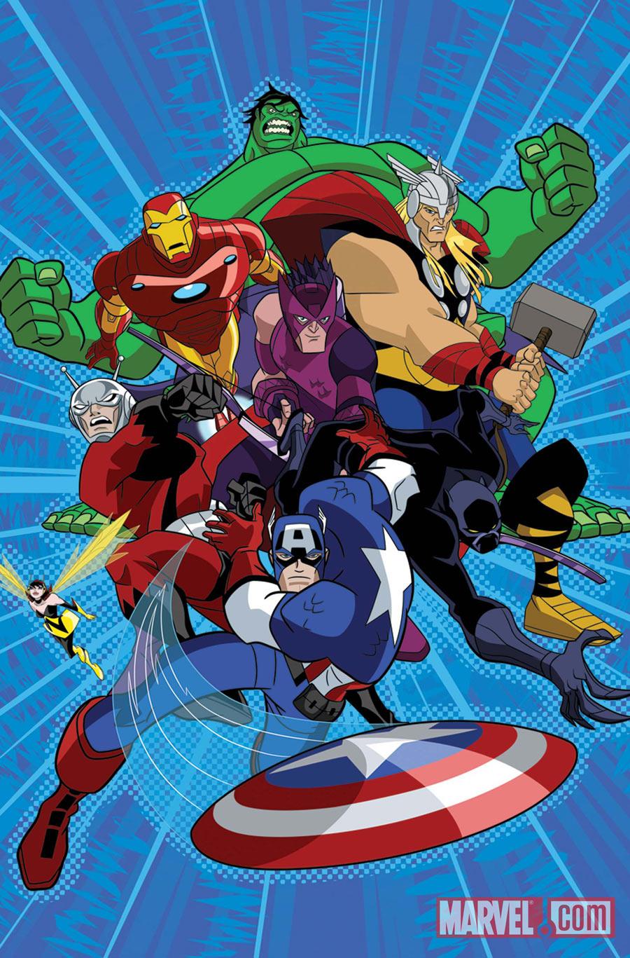 50 anos de vingadores pergaminhos dourados - Heros avengers ...