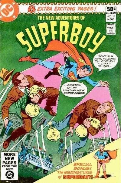 Figura 2: Telecnese desenvolvida pelo Superboy.